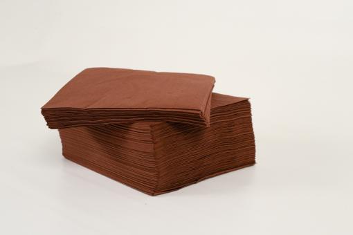 Skiko χαρτοπετσέτα πολυτελείας 33χ33 καφέ