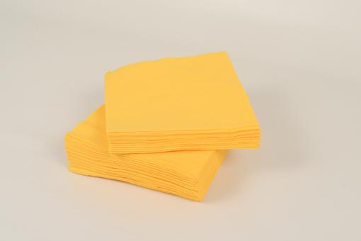 Skiko χαρτοπετσέτα πολυτελείας 33 χ 33 κίτρινη