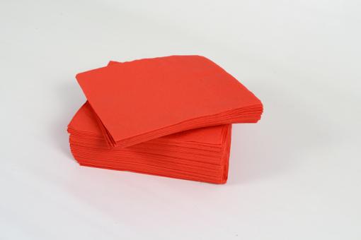 Skiko χαρτοπετσέτα πολυτελείας 33 χ 33 κόκκινη
