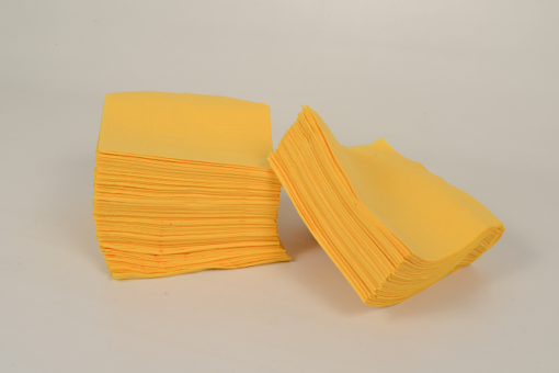 Skiko χαρτοπετσέτα εστιατορίου 24 χ 24 κίτρινη