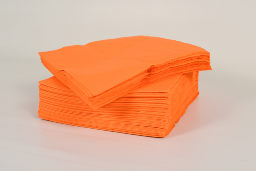 Skiko χαρτοπετσέτα εστιατορίου 24 χ 24 πορτοκαλί