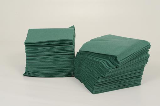 Skiko χαρτοπετσέτα εστιατορίου 24 χ 24 πράσινη