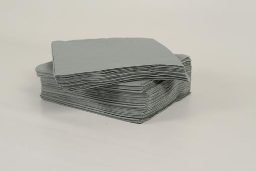 Skiko χαρτοπετσέτα πολυτελείας 33 χ 33 γκρι