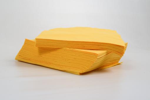 Skiko χαρτοπετσέτα πολυτελείας 40 χ 40 κίτρινη