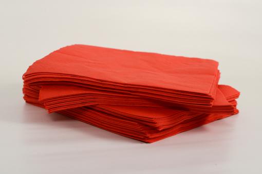 Skiko χαρτοπετσέτα πολυτελείας 40 χ 40 κόκκινη