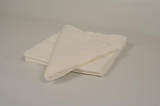 Skiko χαρτοπετσέτα πολυτελείας 40 χ 40 λευκή