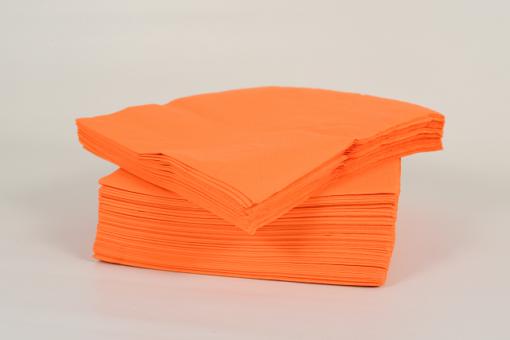 Skiko χαρτοπετσέτα πολυτελείας 40 χ 40 πορτοκαλί