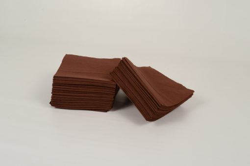 Skiko χαρτοπετσέτες εστιατορίου 24 χ 24 σοκολά